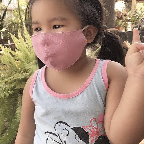 Children's Cotton Wide Face Masks w/Filter Slip