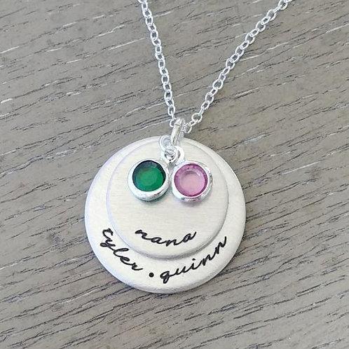 NANA Personalized Birthstone Necklace