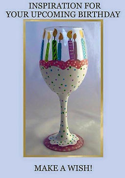 DIY Paint A Wine Glass Kit, Pumpkin, Glowing Candle Holder, Hand Painted Wine glass, Paint Kit
