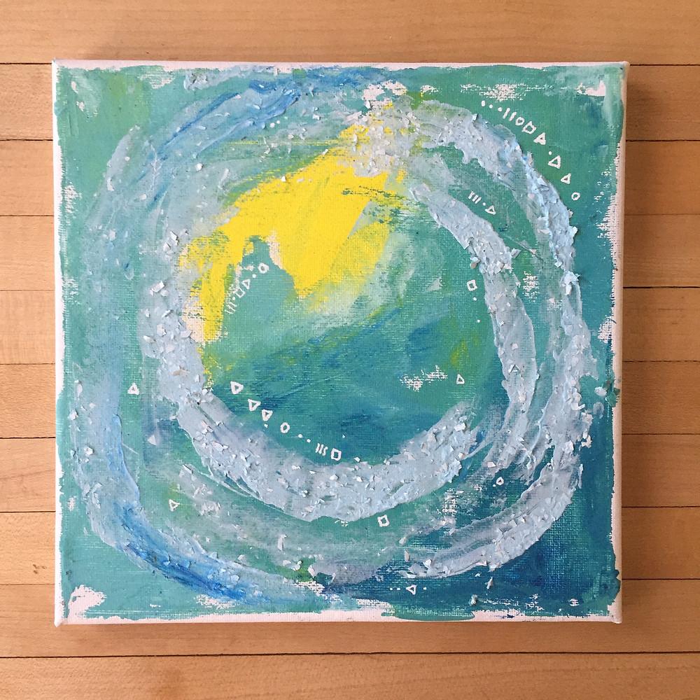 Sun & Ocean Painting