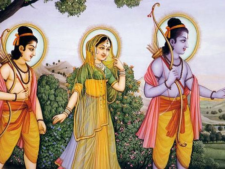 Rama Goes Into the Forest