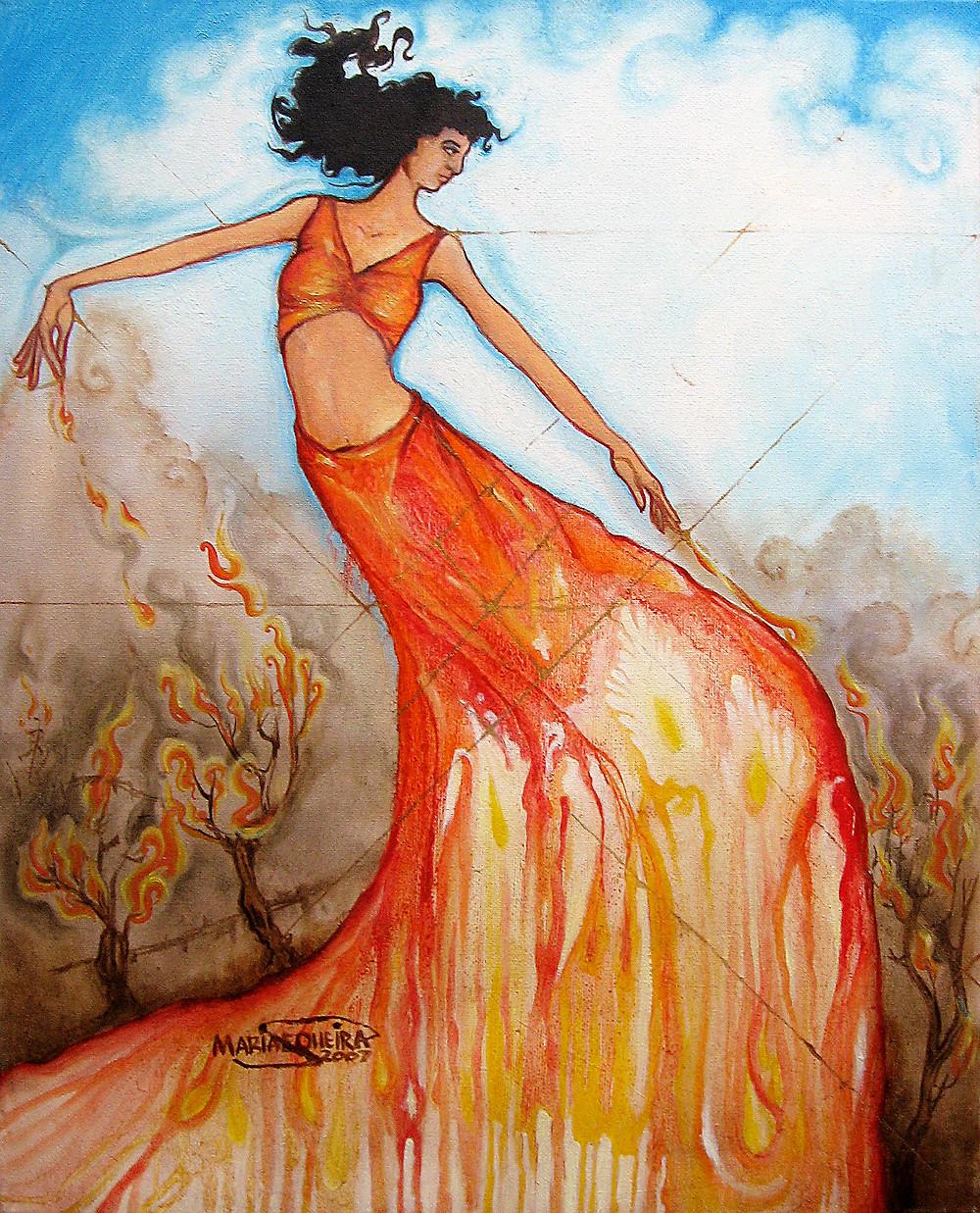 Phoenix Rising Mariascopic