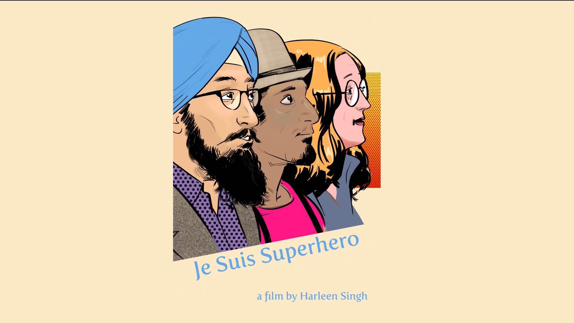 Je Suis Superhero Kickstarter