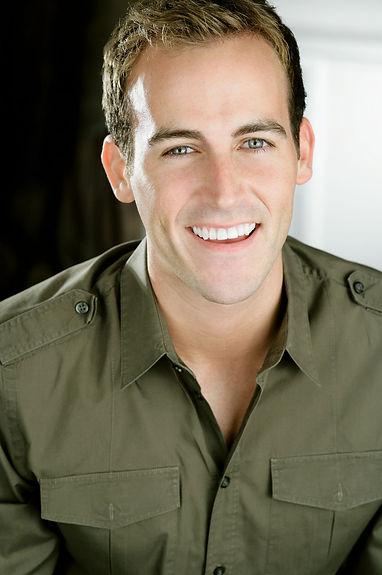 Chris Davis smile teeth headshot commercial