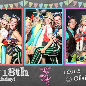 Louis Charlie & Olivia 18th Birthday Party