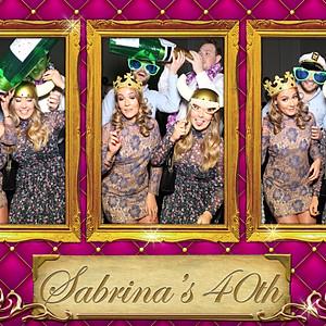 Sabrina's 40th Birthday Party