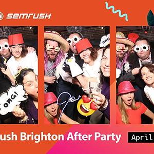 SEMrush Brighton After Party
