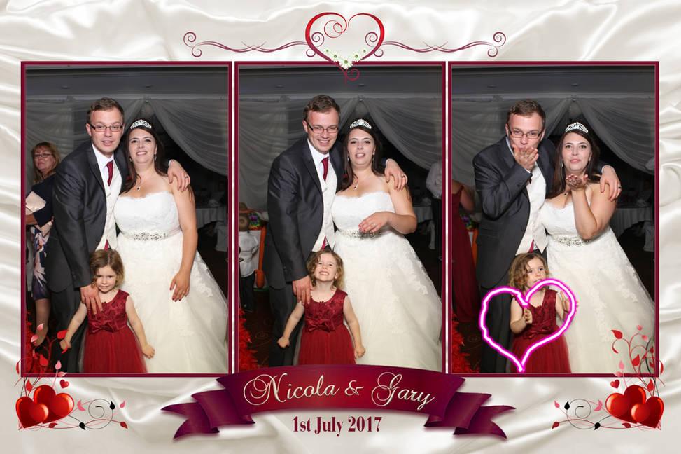 Nicola & Gary's Wedding Reception