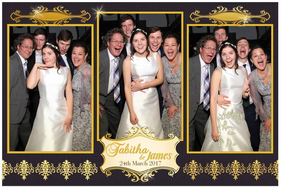 Tabitha & James' Wedding Reception