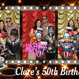 Clare's 50th Birthday Party