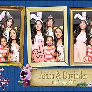 Aisha & Davinder