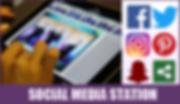 Photo booth social media sharing