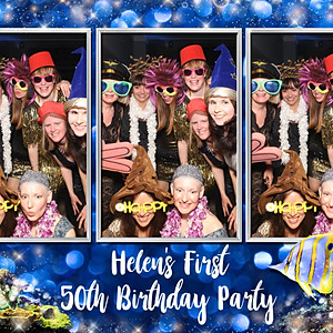 Helen's First 50th Birthday Party
