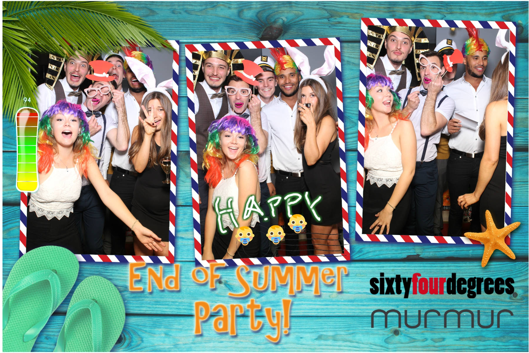 64 degrees & murmur End of Summer Party