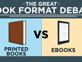 E-books or Print? My Own Thoughts and Feelings…
