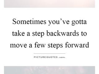 Taking a Few Steps Back...