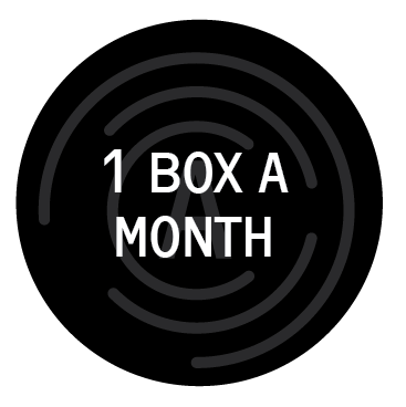 1 box a month, 1 easy payment
