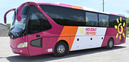 Holiday Services Bus