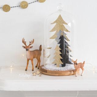 Winter Scene Bell Jar