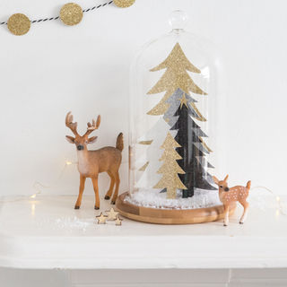 Winter Scene Bell Jar