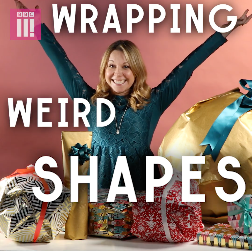 Wrapping awkward shapes video tutorial