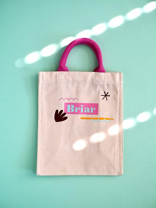 Personalised Kid's Tote Bag