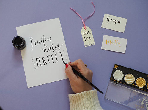 Calligraphy + Kit (Saturday 17th Jan 11am-1pm)