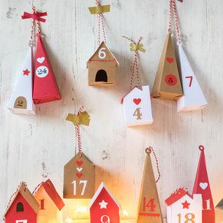 Mini Advent Houses