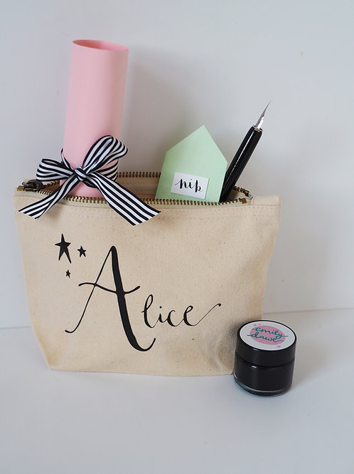 Personalised Calligraphy Kit