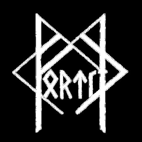 Fortíð Logo White on Transparent.png