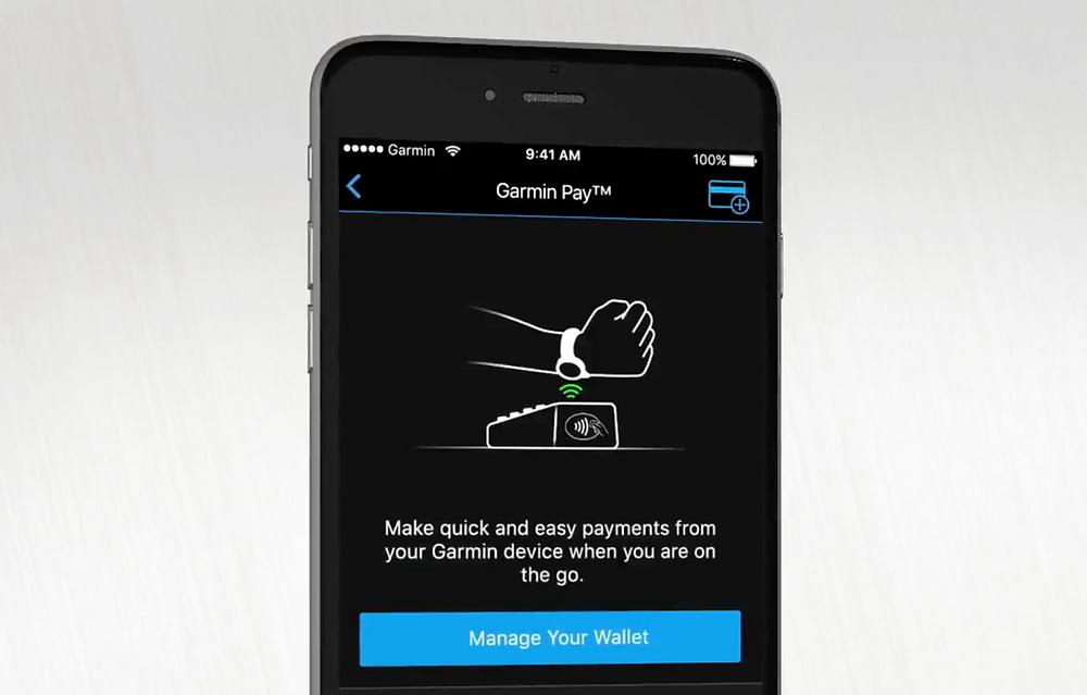 garmin pay contactloos pinnen met je smartwatch