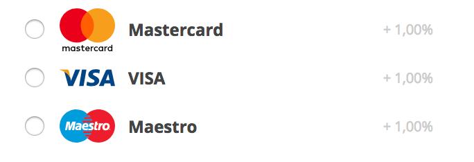 surcharge of toeslag op creditcard betaling bij webshop aankoop binnenkort verleden tijd?