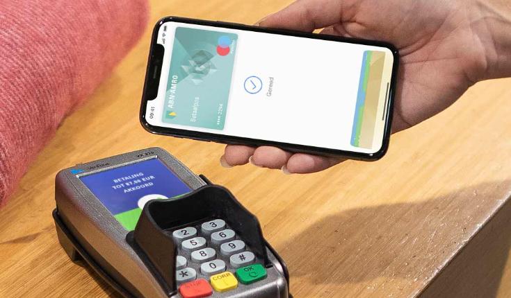 ABN AMRO Apple Pay contactloos afrekenen