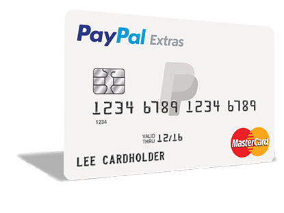 PayPal brengt creditcard uit