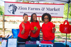 Lovely ladies of Zion Farms & Market