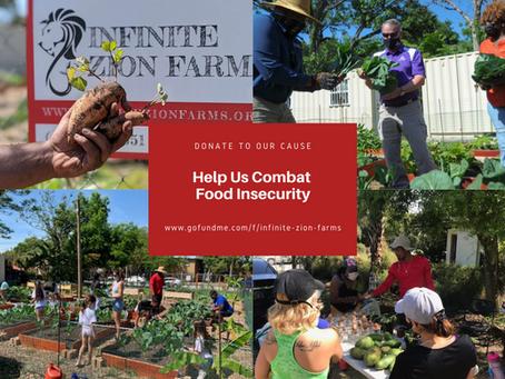 Help Us Combat Food Insecurity