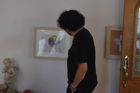 葉加瀬さんの絵画と05