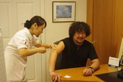 葉加瀬さん予防接種02