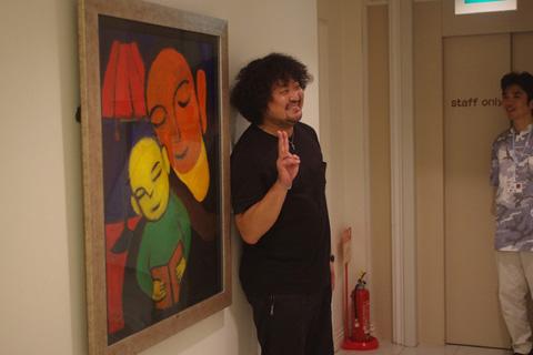 葉加瀬さんの絵画と02