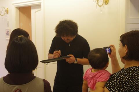 葉加瀬さんのサイン02