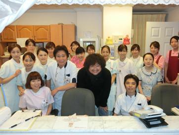 平野エンゼルクリニックに葉加瀬太郎さんがいらっしゃいました!