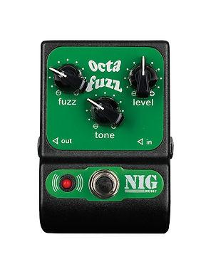 NIG Pedal Guitarra Eléctrica POC Octava Fuzz