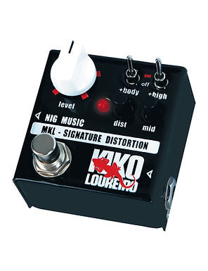 NIG Pedal Guitarra Eléctrica MKL Signature Micro Kiko Loureiro Distortion
