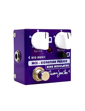 NIG Pedal Guitarra Eléctrica MCS Signature Micro Cacau Santos Phaset & Ring