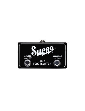 SUPRO Pedal Footswitch Tremolo Y Reverb SF2