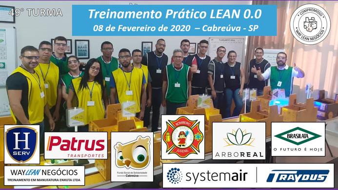 Avaliação do curso prático de LEAN 0.0