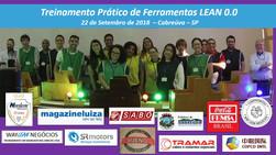 Avaliação do curso prático de Ferramentas LEAN 0.0  - Cidade de Cabreúva 22 de Setembro 2018