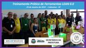 Avaliação do curso prático de Ferramentas LEAN 0.0 - Secretários da Prefeitura de Cabreúva.