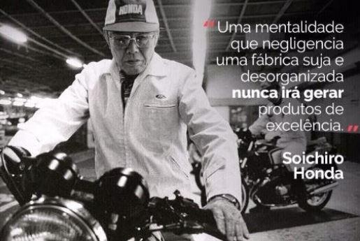 Soichiro Honda - way leannegócios - treinamentos de Lean manufacturing