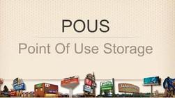 POUS - Point of use storage  - GRUPO LEAN